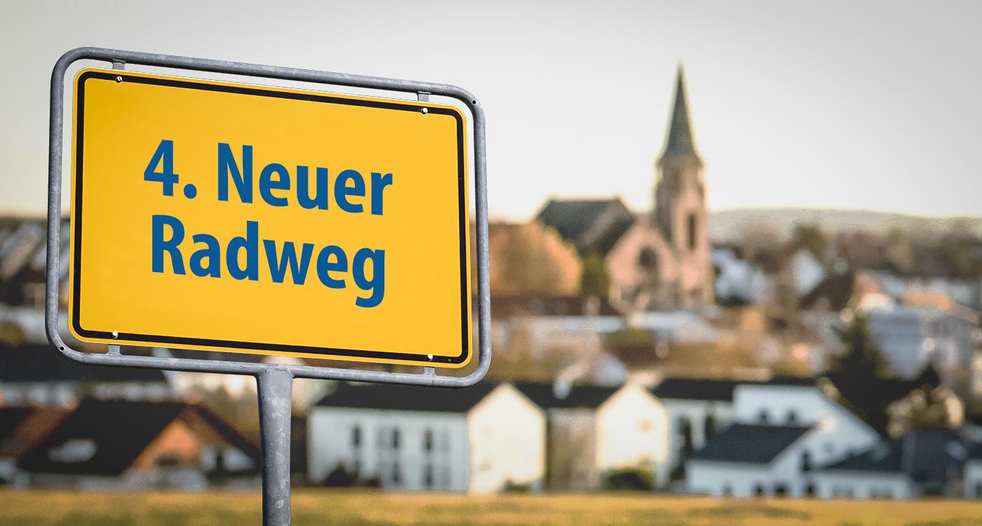 04 - Neuer Radweg