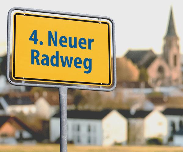 04 - Neuer Radweg m